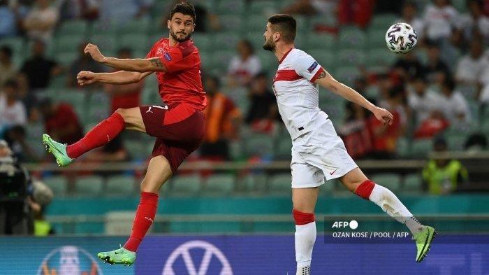 Hasil Euro 2020: Swiss Menang atas Turki, Shaqiri cs Buka Peluang ke 16 Besar