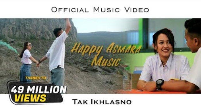 Chord Lagu Tak Ikhlasno - Happy Asmara: Ra Sepirone Loro Ati Iki Amergo di Tinggal Pergi