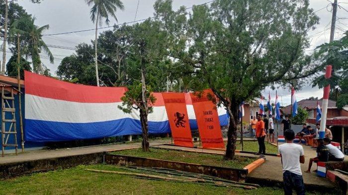Taman Belanda di Kayu tiga, Ambon, Maluku.