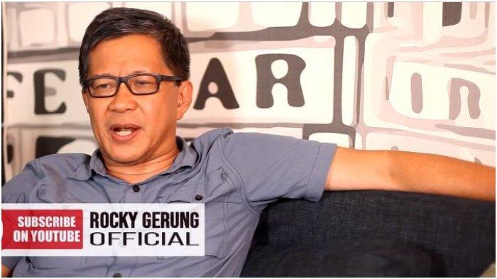 Rocky Gerung Menyebut Penangkapan Munarman Bertujuan untuk Menutupi Berita Besar
