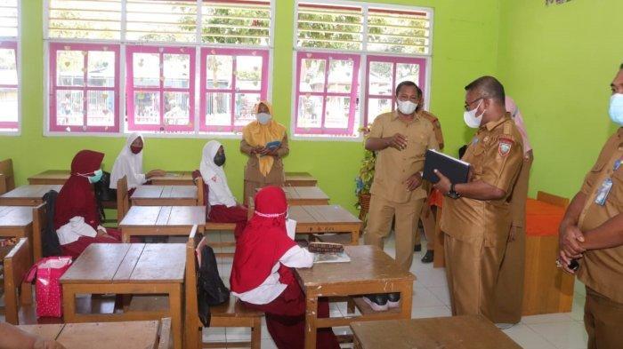 Pemkot Ambon Lakukan Simulasi Sekolah Tatap Muka Setelah Lebaran Idul Fitri
