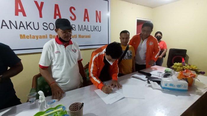 Jelang Soeratin Cup, Jong Ambon FC Teken Kontrak Pemain dan Orangtua, Ada Pemberlakuan Jam Malam