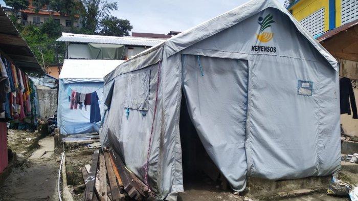 Tenda Rusak, Pengungsi Ongkoliong Dihantui Maling