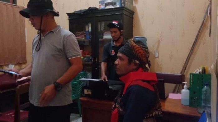 Terduga Pelaku Pembacokan Berinisial MM Digiring ke Mapolres Buru