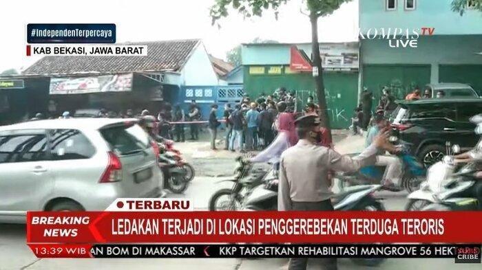 Polisi Amankan Terduga Teroris di Cikarang