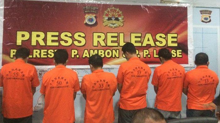 6 Tersangka Penyelundupan Amunisi ke KKB Diserahkan ke Kejaksaan
