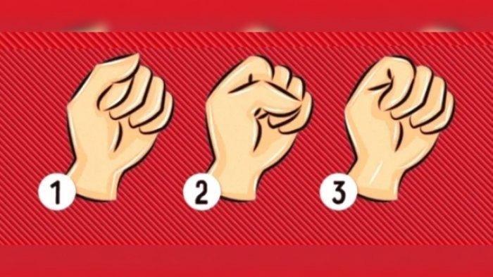 Tes Kepribadian: Pilih Satu Bentuk Kepalan Tangan, Jawabannya Tunjukkan Kepribadianmu