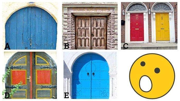 Tes Kepribadian - Pintu Mana yang Ingin Kamu Buka? Pilihanmu Bisa Ungkap Sifat Aslimu yang Dominan