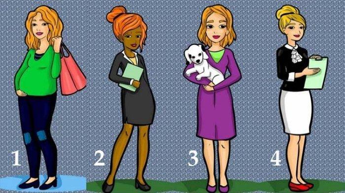 Tes Kepribadian: Pilih Satu dari Empat Wanita di Gambar Ini, Pilihanmu Tunjukkan Karaktermu