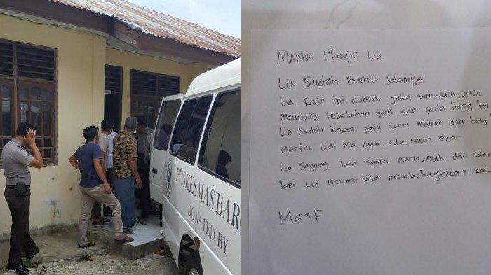 Gantung Diri 2 Hari Jelang Hari Pernikahannya, Gadis di Aceh Tinggalkan Sepucuk Surat, Ini Isinya!