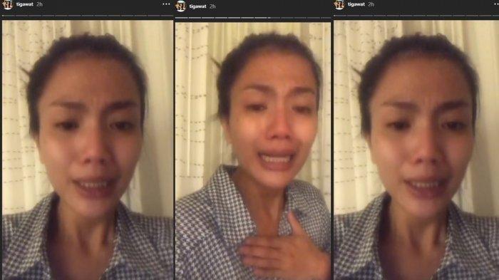 Viral Video Tiga Setia Gara Minta Tolong Dipulangkan dari Amerika Gara-gara Disiksa Suami Bulenya
