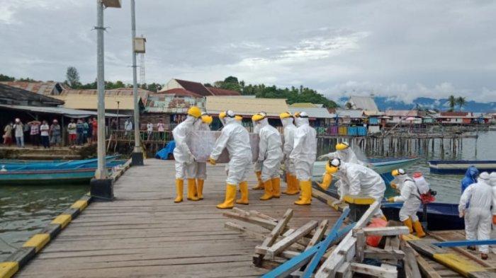 Meninggal di Seram Bagian Barat, Jenazah Pasien Covid-19 Malah Dimakamkan di Namlea-Kabupaten Buru
