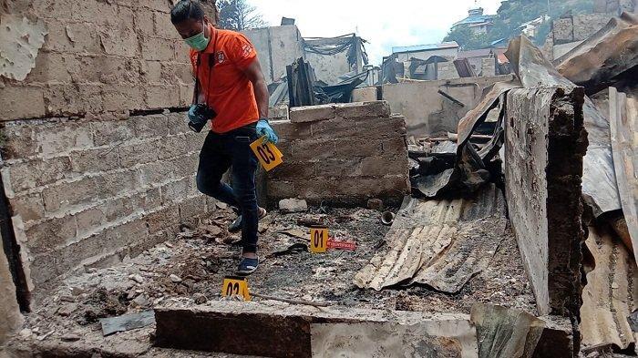 Pasutri Bertengkar Lalu Kabur, Diduga Jadi Penyebab Kebakaran Hebat di Ambon