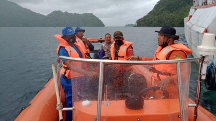 Longboat Tenggelam di Laut Banda - Maluku, 27 Selamat, 1 Korban Dalam Pencarian