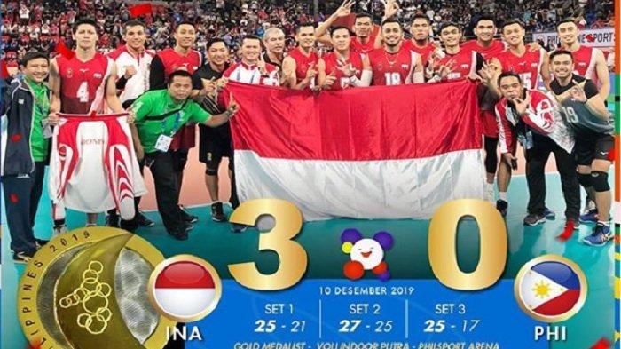 Terbaru Perolehan Medali Sea Games 2019: Timnas Kalah, Indonesia Tertinggal Jauh Vietnam & Thailand