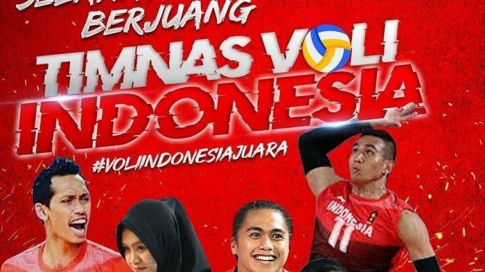 Voli Indonesia Juara! Timnas Bola Voli Putra Indonesia Raih Emas Tumbangkan Filipina