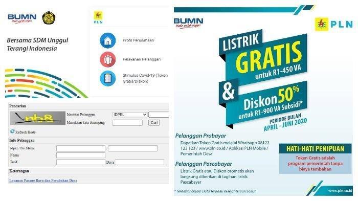 Klaim Token Listrik Gratis PLN Bulan Agustus 2020, Bisa WA 08122123123 atau Login www.pln.co.id
