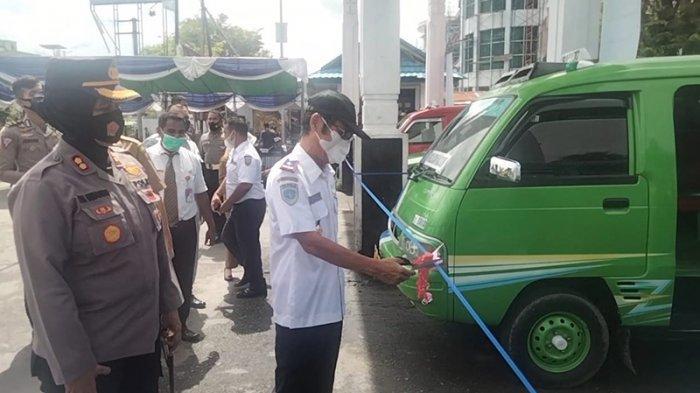Dishub Maluku Tengah Akan Tertibkan Mobil Pangkalan Pelat Hitam