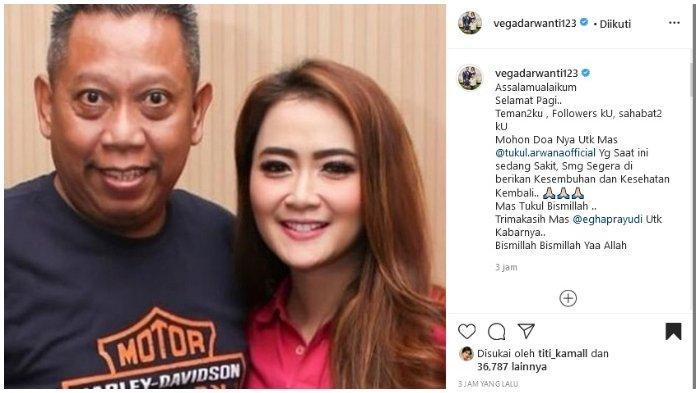 Vega Darwanti Mohon Doa untuk Kesembuhan Tukul Arwana