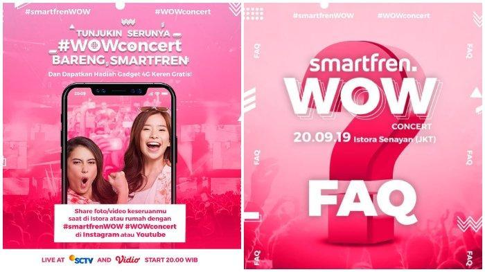 Acara TV Hari Ini Jumat 20 September 2019, Ada Kick Andy di Metro TV, Smartfren WOW Concert di SCTV