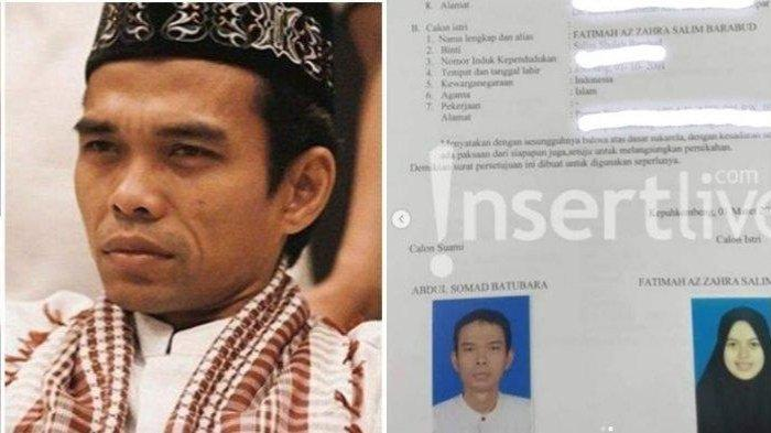 Ustaz Abdul Somad Dikabarkan Akan Nikahi Gadis Muda asal Jombang, Beda Usia 24 Tahun, Ini Sosoknya
