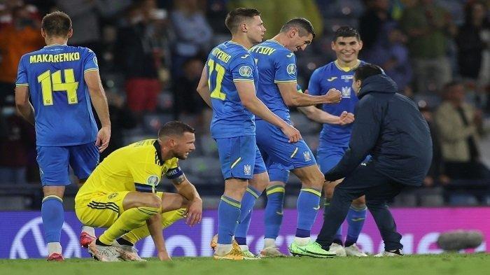 Hasil Euro 2021, Ukraina Menang Dramatis, Armada Shevchenko Kalahkan Swedia 2-1