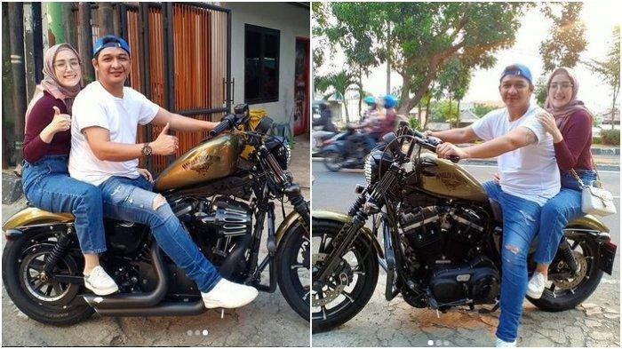 Pasha Ungu Dapat Hadiah Sepeda Motor dari Adelia Wilhelmina