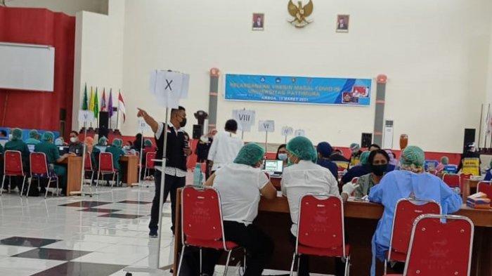 Dosen dan Tenaga Kependidikan Universitas Pattimura Ambon Mulai Divaksinasi