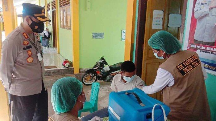 Vaksinasi Masal Sasar Pelajar SMA di Kota Tual