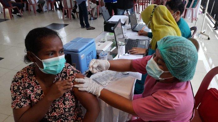 Vaksin Tahap Pertama Kota Ambon Capai 70 Persen