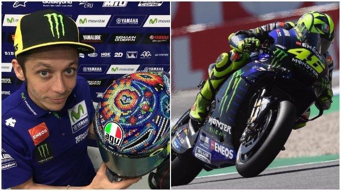 Gagal Finis 3 Kali di MotoGP 2019, Valentino Rossi Tak Sabar Tunggangi M1 untuk MotoGP Brno Ceko