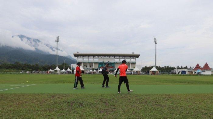 Begini Persiapan Venue Cricket di PON XX Papua