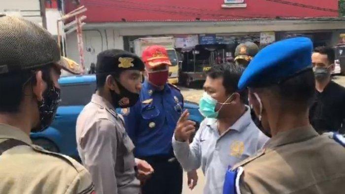 Viral Anggota DPRD Cekcok dengan Petugas Razia Masker, Tak Terima Dibentak