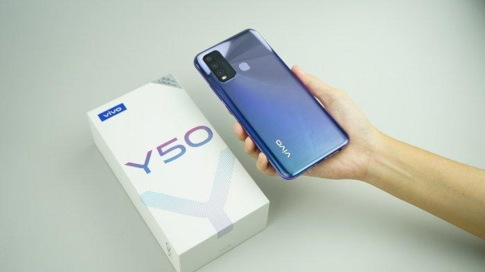 PROMO HARGA Vivo Y50 Dibanderol Rp Rp 3,499 Juta, Berikut Spesifikasinya