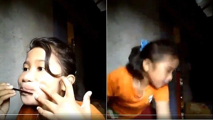 Viral Video Vlogger Cilik Dandan saat Gempa Ambon Guncang Rumahnya, Ini Reaksi Si Gadis