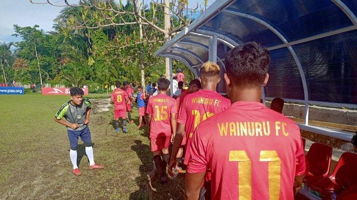 Unggul Jumlah Pemain, PSHL Hitu Leitimur Berhasil Ditahan Imbang Wainuru FC