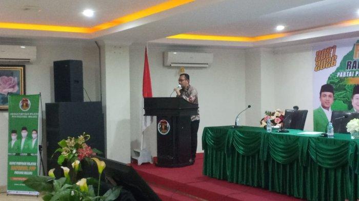Barnabas Orno Minta PPP Maluku Perkuat Eksistensi Demi Kepentingan Umat