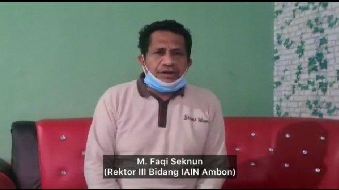 Demo Tolak PPKM, Wakil Rektor IAIN Ambon Imbau Mahasiswanya Tak Turun ke Jalan