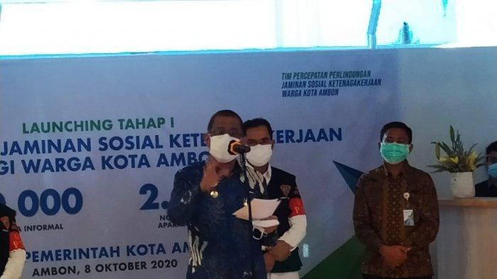 Ribuan Tenaga Kerja di Kota Ambon Mendapat Jaminan Sosial Ketenagakerjaan
