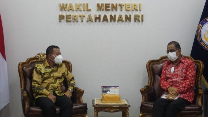 Kemenhan Beri Lampu Hijau Pemindahan Mako Kodam XVI Pattimura di Tawiri
