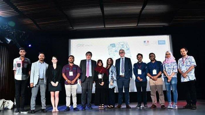 Warung prancis Unpatti mendapat penghargaan dari IFI (institut francais Indonesia) sebagai warung prancis teladan dengan sosial media teraktif dan dinamis 2018