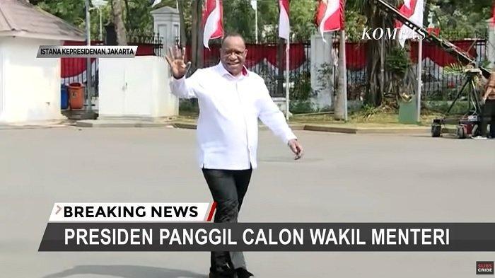RESMI 8 Calon Wakil Menteri Dapat Tugas Ini Dari Presiden Jokowi, Tokoh Papua Wamen PUPR