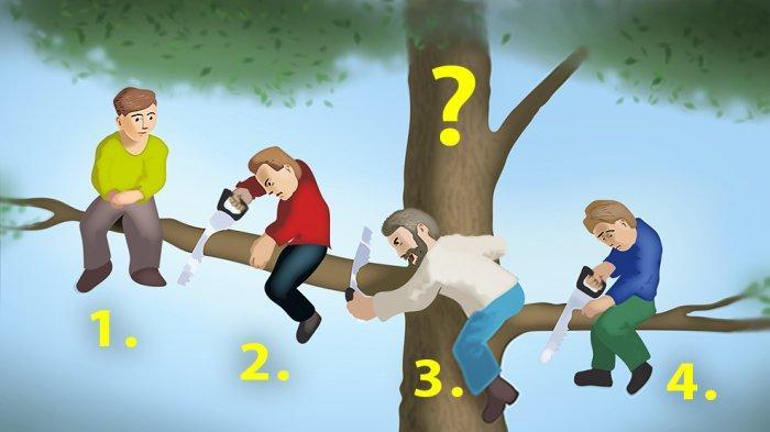 Tes Kepribadian: Dari 4 Orang Ini, Mana yang Paling Bodoh? Jawabanmu Tunjukkan Tingkat Logikamu