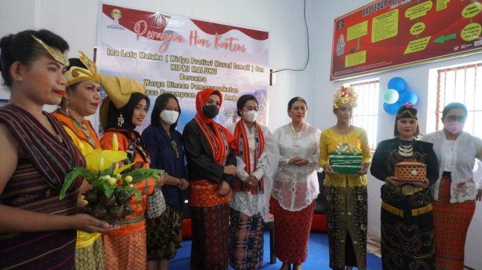 Rayakan Hari Kartini, Ini Pesan Ina Latu Maluku kepada Warga Binaan Lapas Perempuan Kelas III Ambon