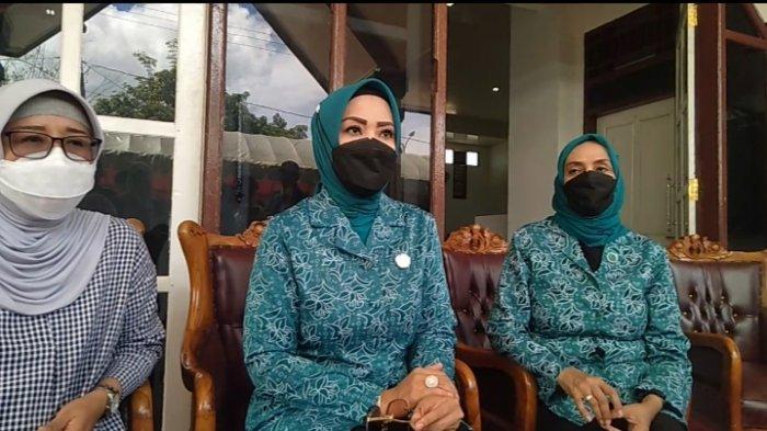 Widya Pratiwi Mudya Ismail saat melakukan kunjunga kerja di Maluku Tenggara, Sabtu (26/3/2021).