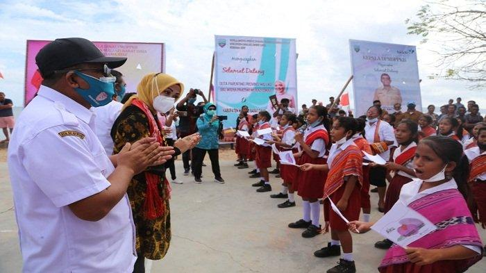 Widya Murad Ismail Datangi Lokasi Stunting di Pulau Terluar Maluku, Ini Pesannya
