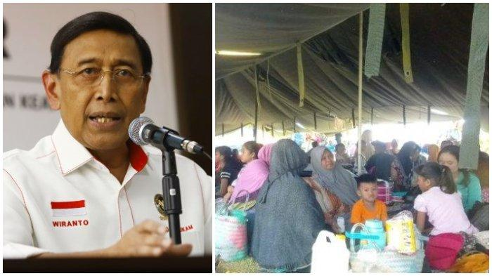 Dikritik soal Pernyataan Pengungsi Gempa Maluku Jadi Beban Pemerintah, Wiranto Sebut Itu Salah Paham