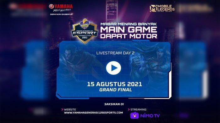 Yamaha Bangkitkan Semangat Ribuan Pecinta E-Sports Indonesia