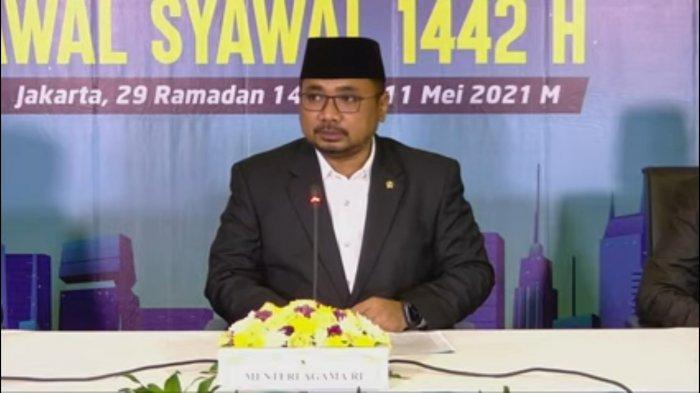 Breaking News Hasil Sidang Isbat Menag Tetapkan Idul Fitri 1442 H Jatuh pada Kamis 13 Mei 2021