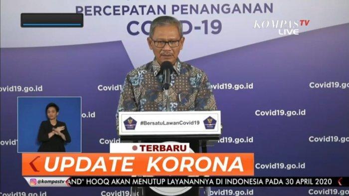 BREAKING NEWS: Pasien Positif Corona 9.511 Orang Per 28 April 2020, 773 Meninggal, 1.254 Sembuh